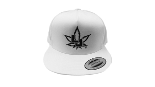YP White Classic Trucker Snap Back BRB